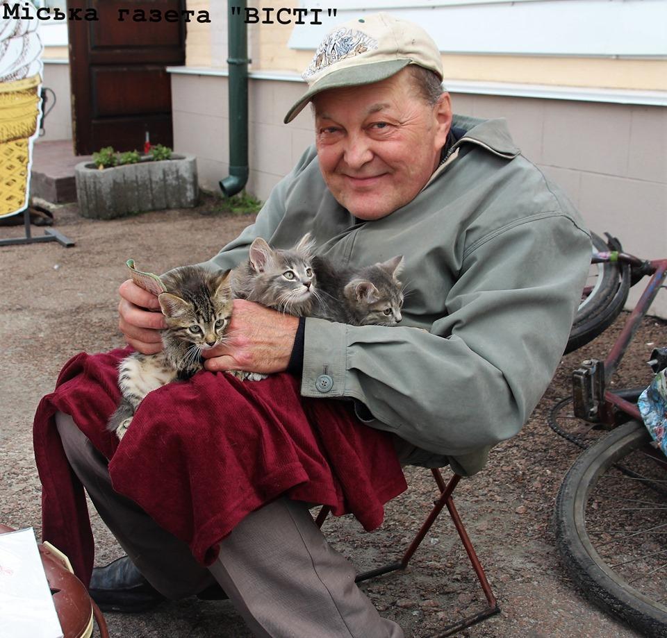 Технік-механік з Ніжина лікує кошенят та роздає людям (Фото)