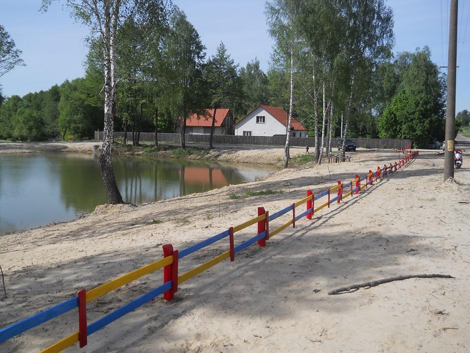 Нове «обличчя» сновської Герашки: небайдужі відновили занедбане озеро (Фото)