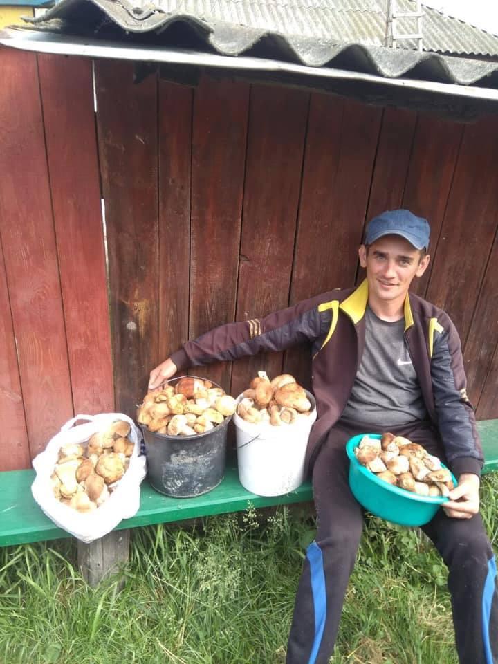 На Чернігівщині чоловік виявив грибне «Ельдорадо» (Фото)