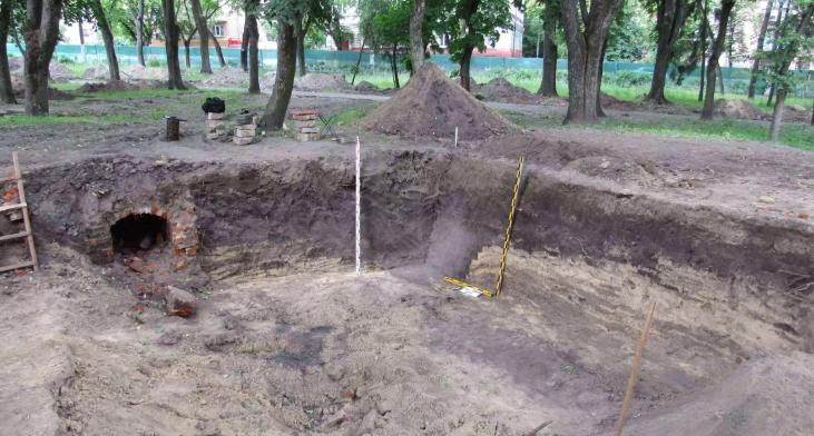 На території Валу археологи виявили фортифікаційні споруди XVIII століття
