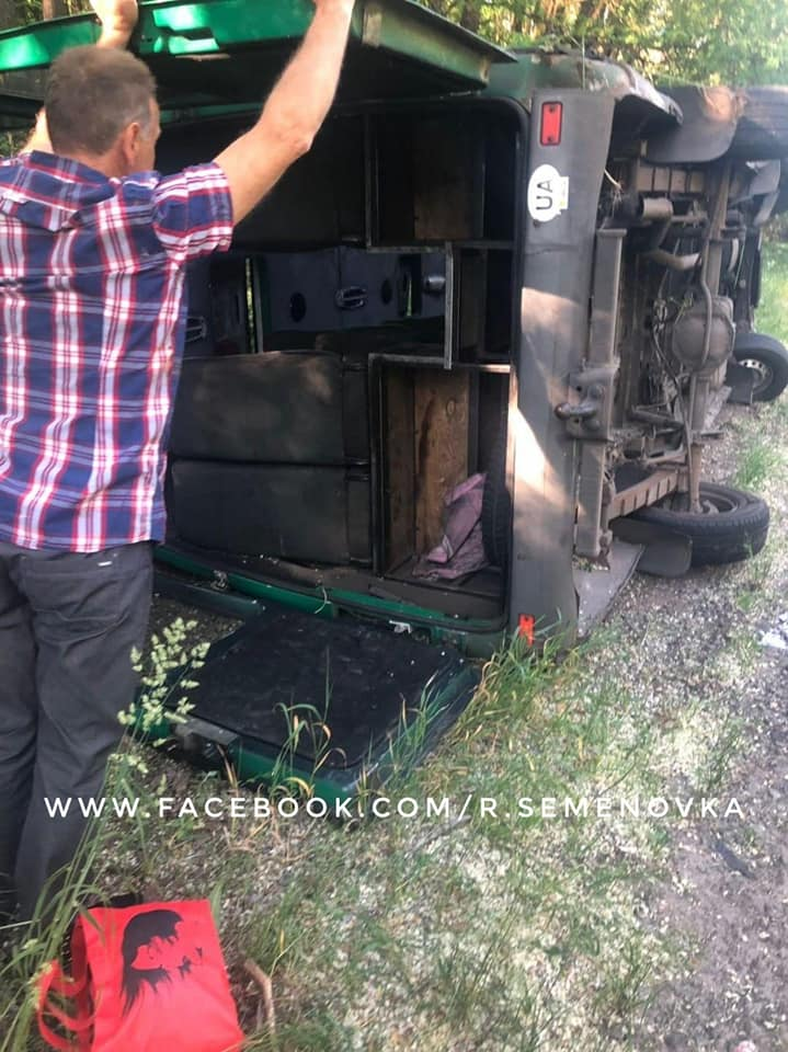 Подробиці жахливої аварії з маршруткою (Фото)
