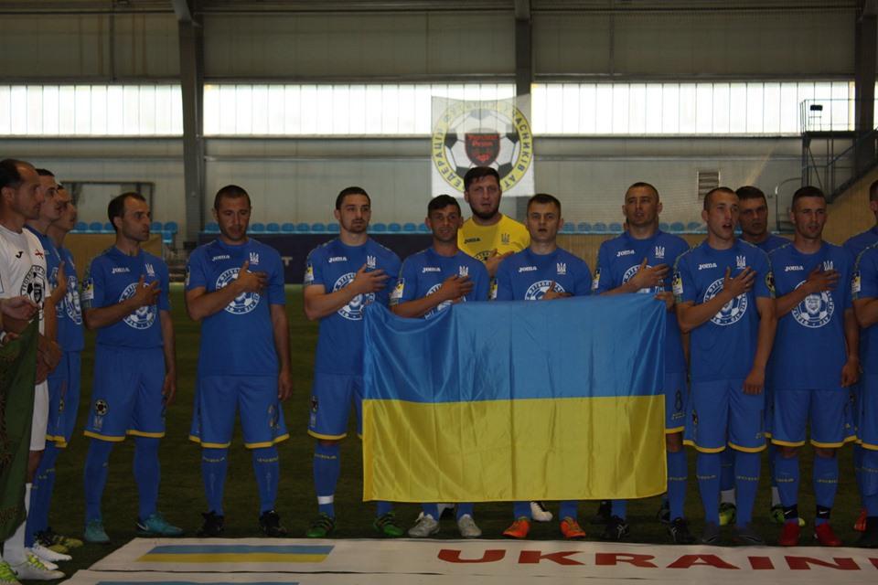 Ще один чернігівець грає за збірну України (Фото)