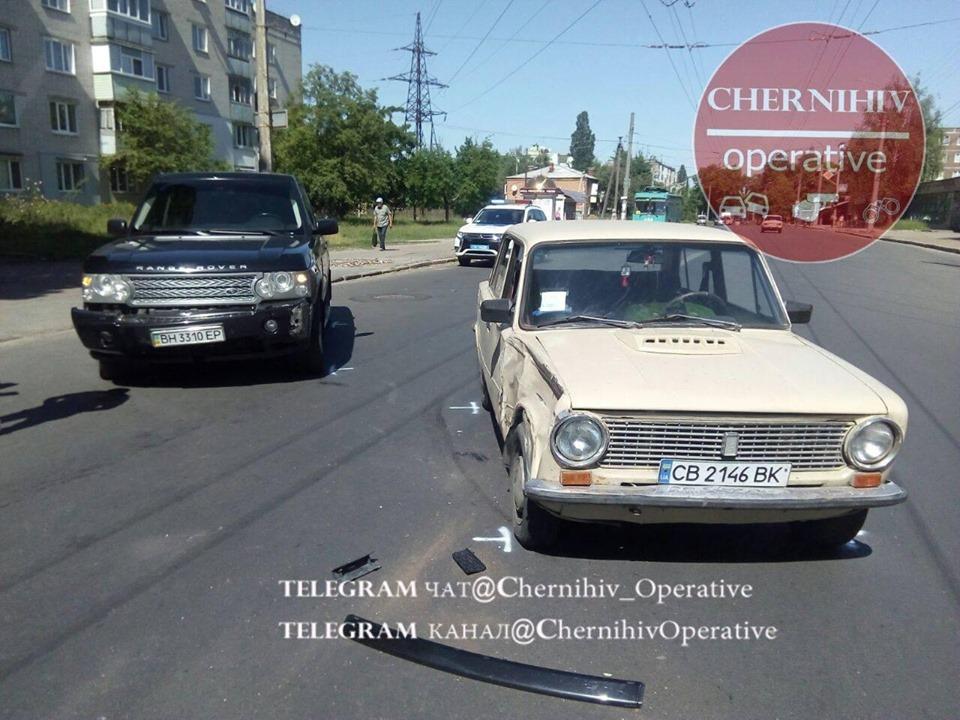 ДТП на Гагаріна (Фотофакт)