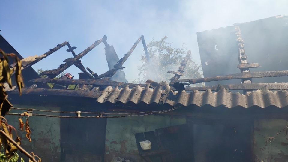 Дитячі пустощі з вогнем призвели до пожежі у Сосниці