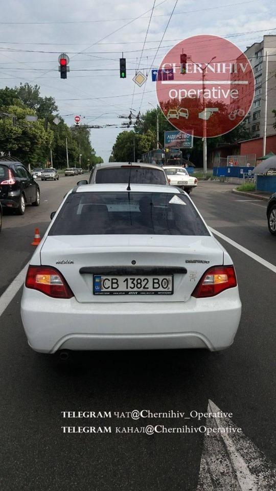 Чергова ДТП у Чернігові (Фото)