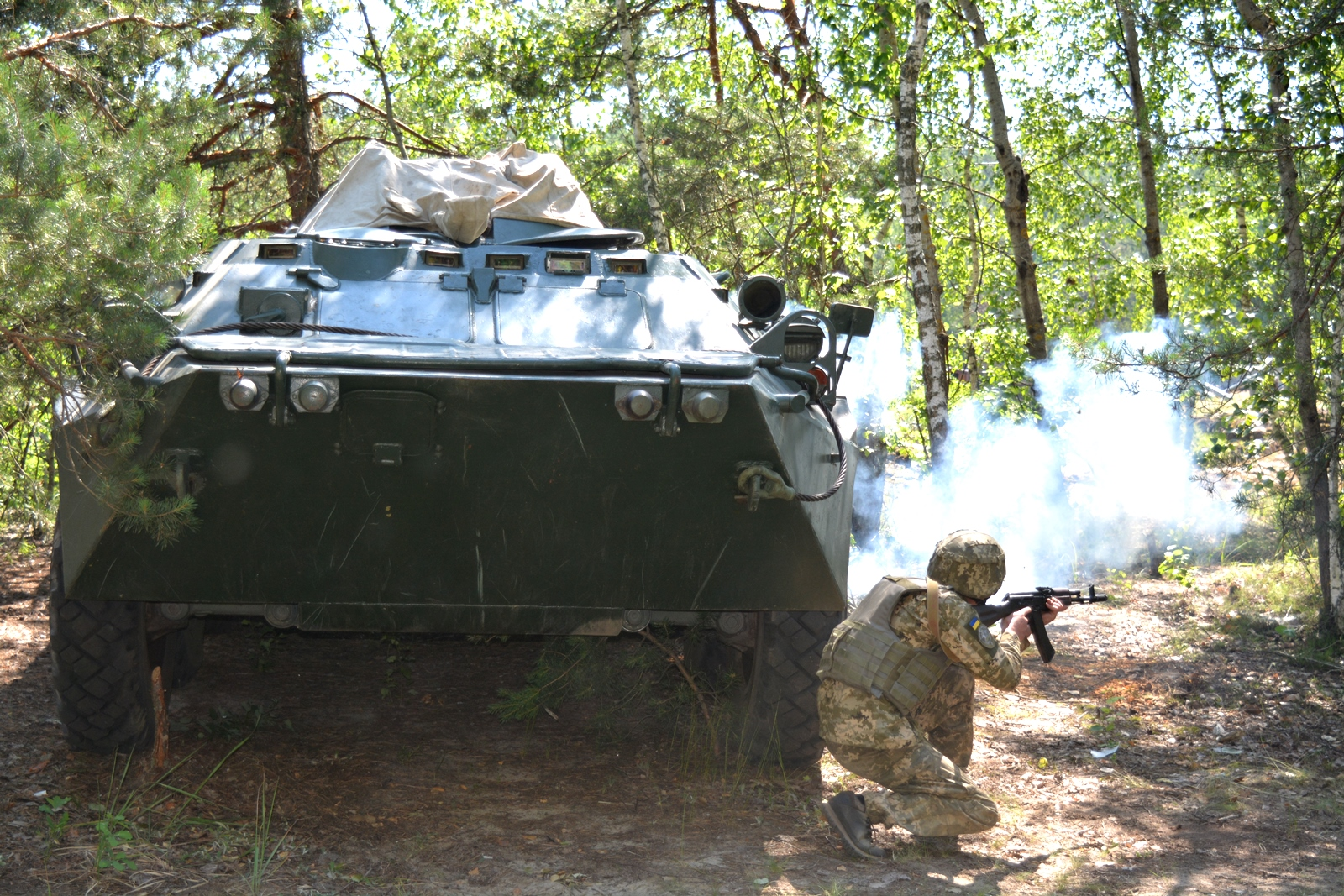 На Чернігівщині військові медики змагаються за перемогу (Фото)