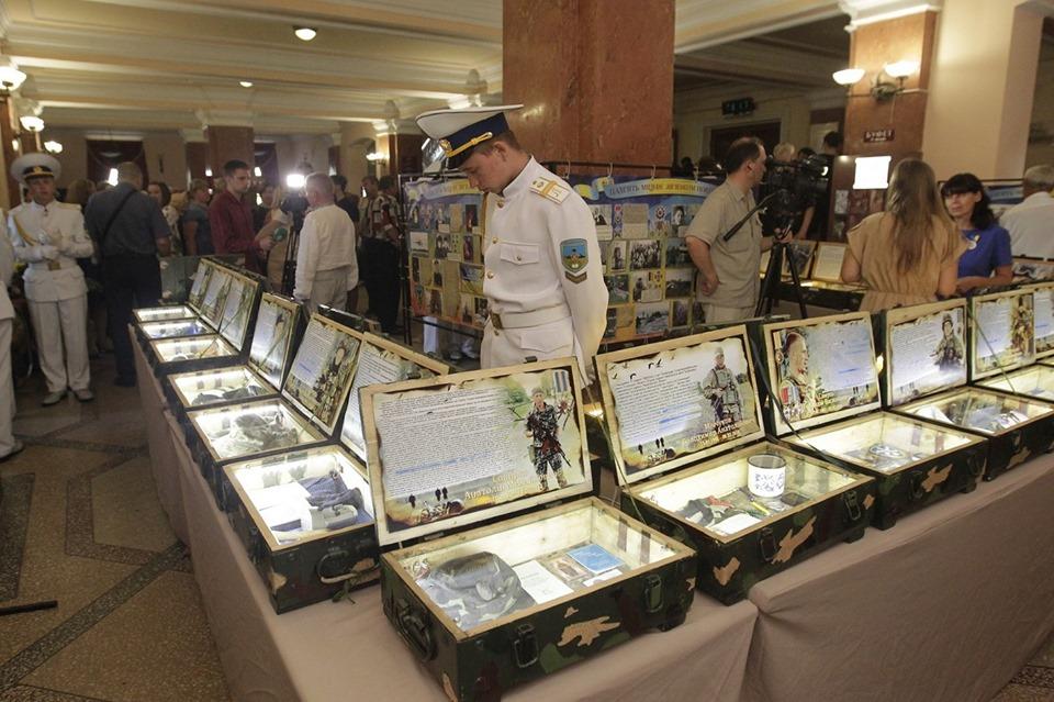 Чернігівщина єдиною родиною вшановує пам'ять полеглих воїнів (Фото)