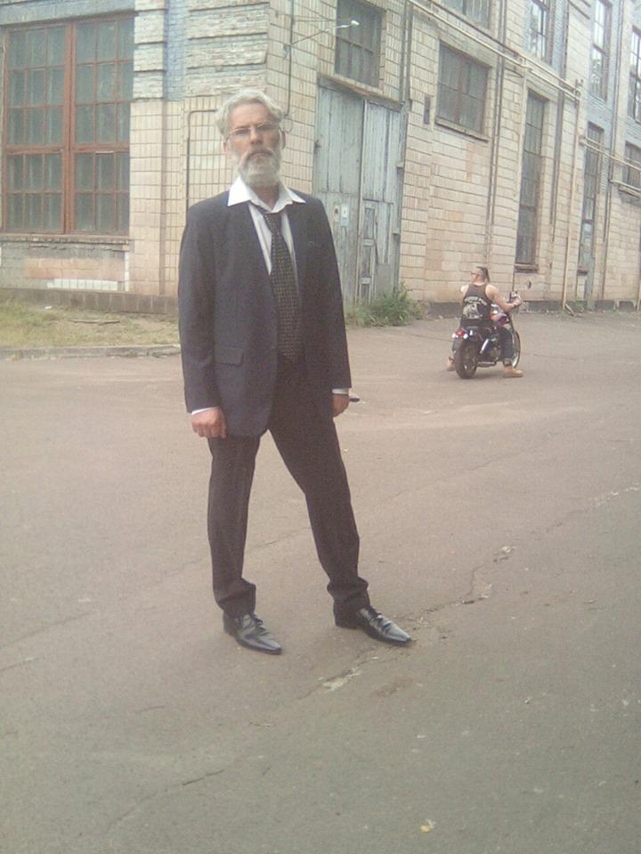 Житель Чернігівщини знявся в новому українському серіалі (Фото)