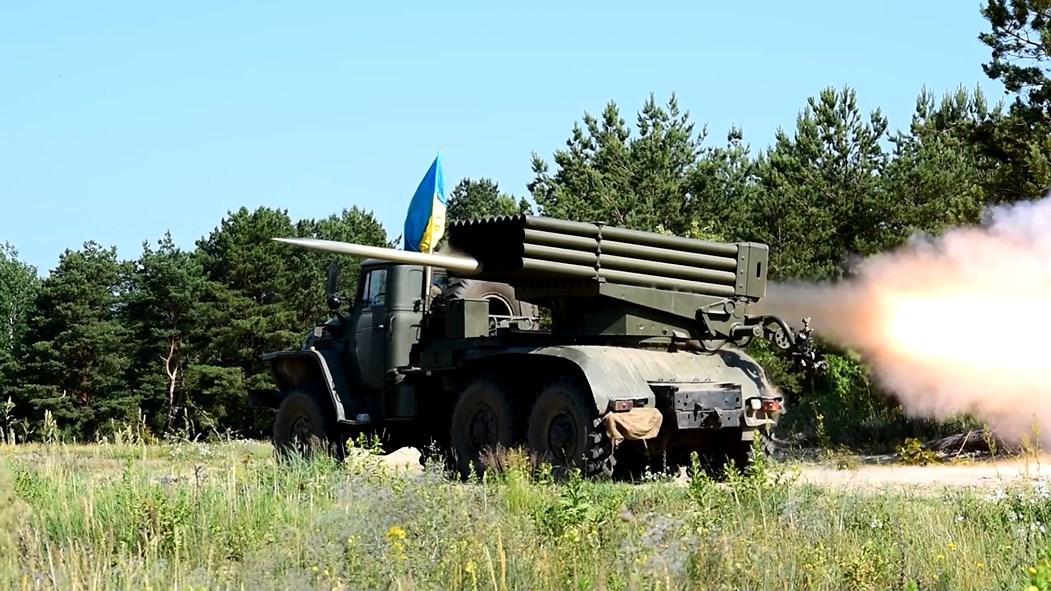 На Чернігівщині стріляли «Гради» (Фото)