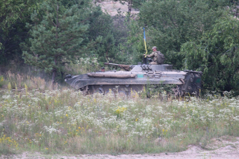На Чернігівщині провели тактичні навчання з бойовою стрільбою (Фото)