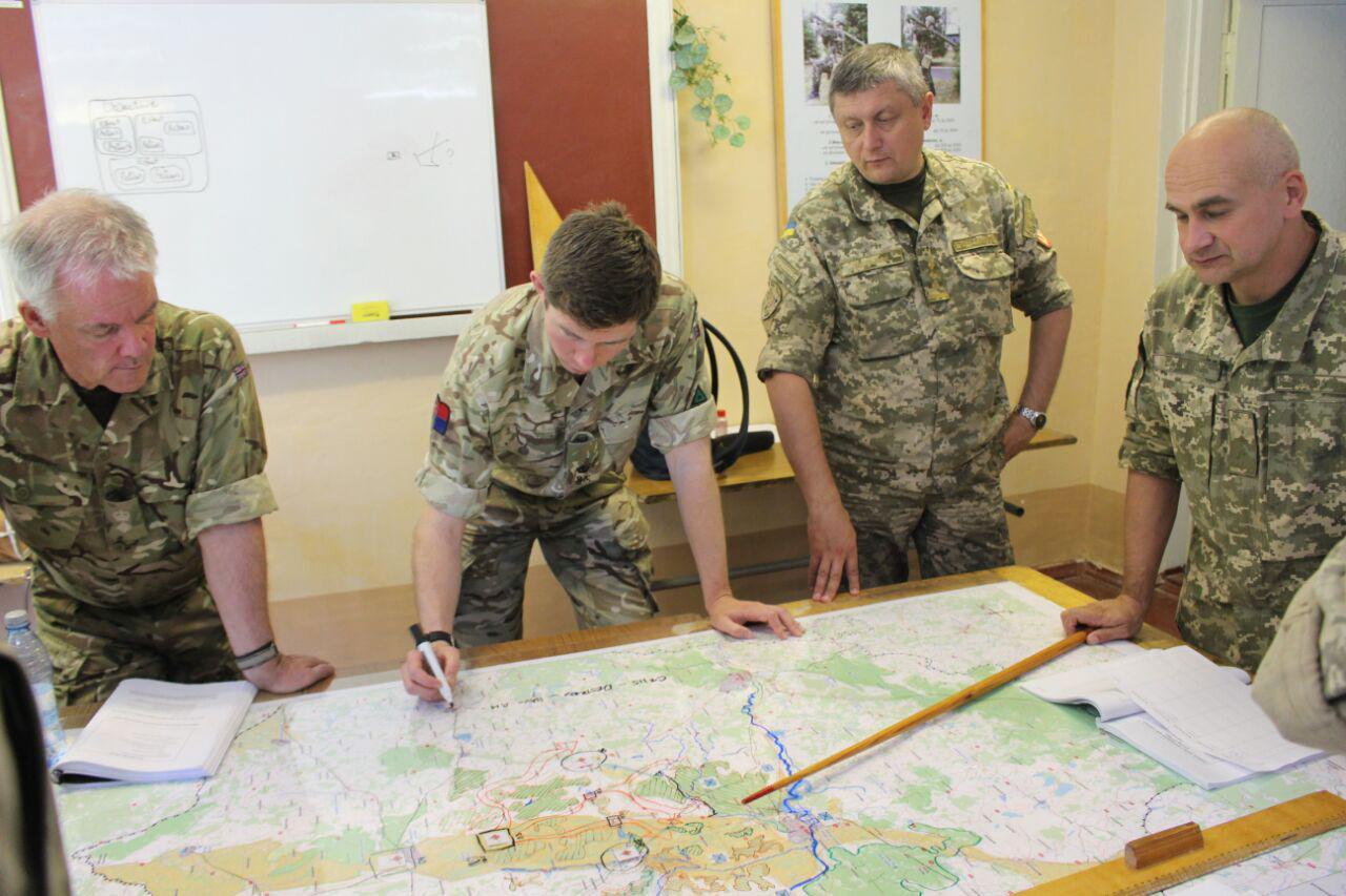 Офіцери оперативного командування «Північ» пройшли курси за програмою ORBITAL (Фото)