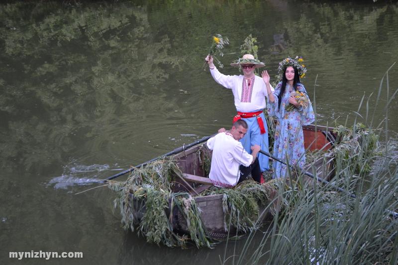 Спалювання опудала, катання на човні та гуляння: як у Ніжині відсвяткували Івана Купала (Фото)