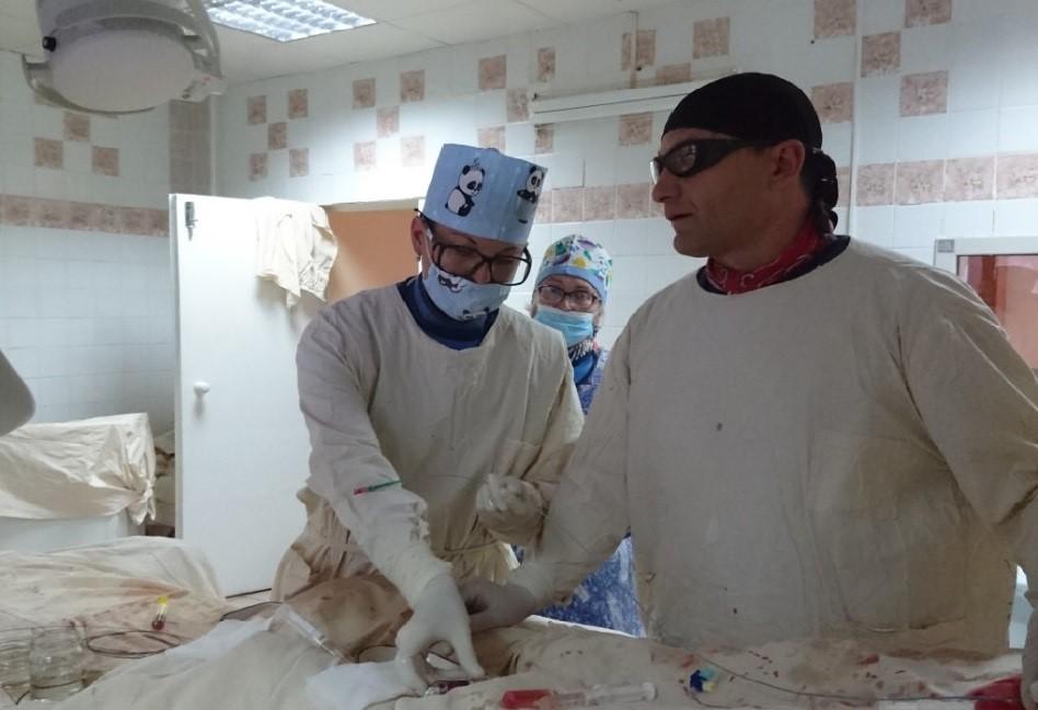 Чернігівські лікарі врятували пацієнту ногу
