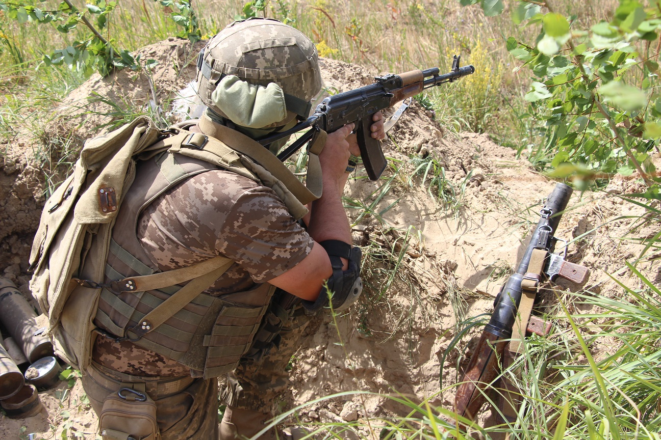 На Чернігівщині провели батальйонно-тактичні навчання з бойовою стрільбою (Фото)