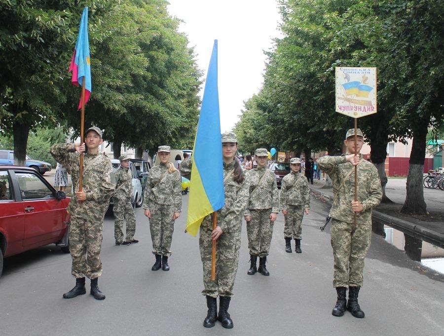 У Сновську пройшов парад талановитих дітей (Фото)