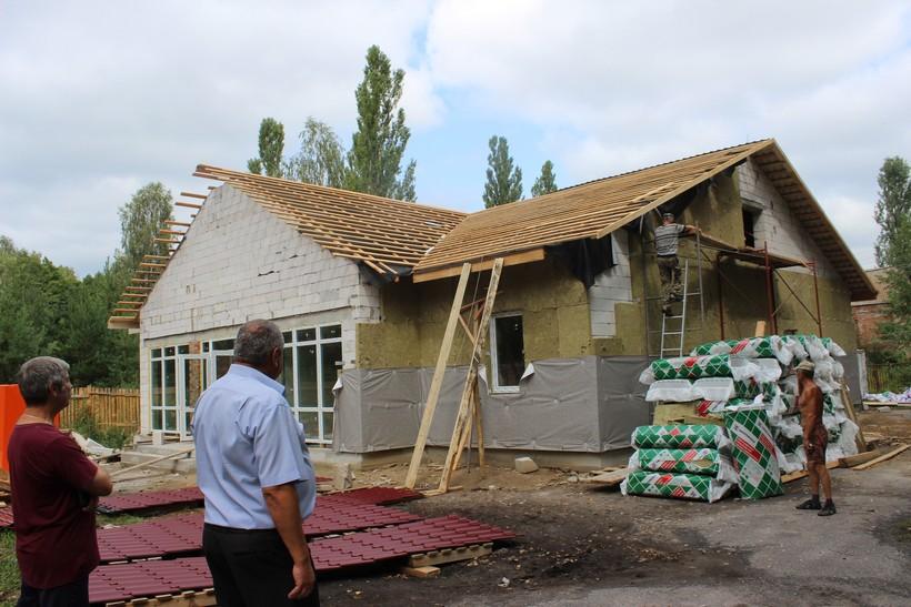 У Сновській ОТГ будують нову амбулаторію (Фото)