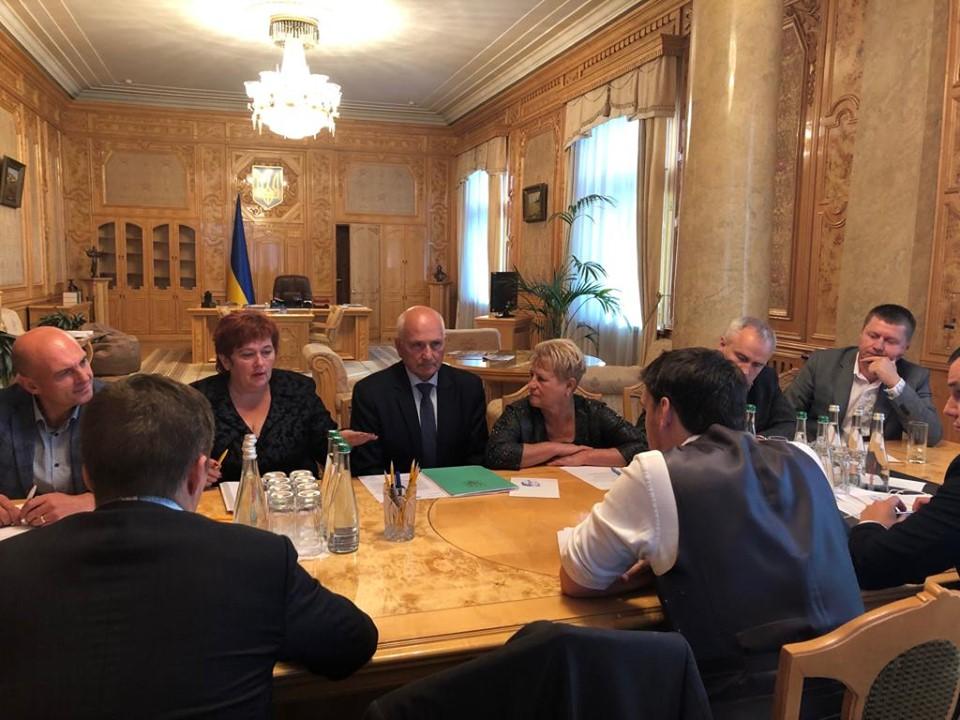 Голова громади з Чернігівщини зустрілася з Прем'єром