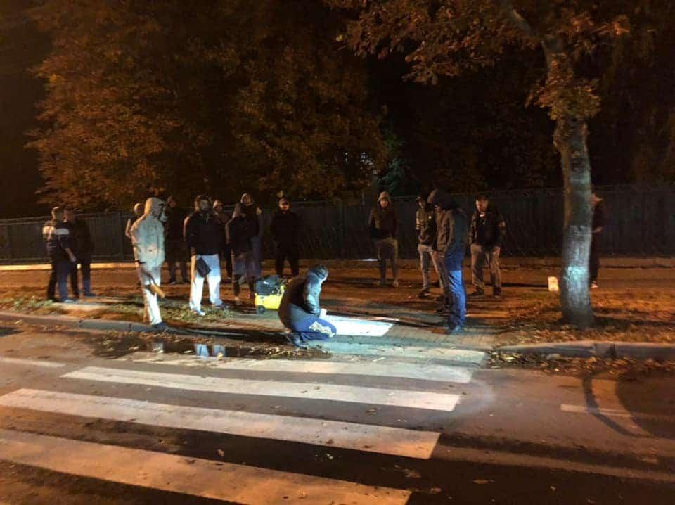 У Ніжині активісти нагадали пішоходам про заходи безпеки (Фото)
