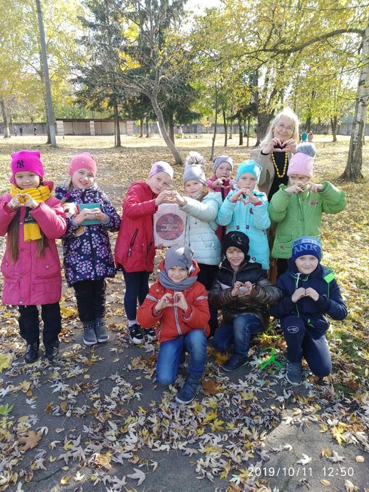 У Сновську дітлахи організували патріотичний ярмарок (Фото)