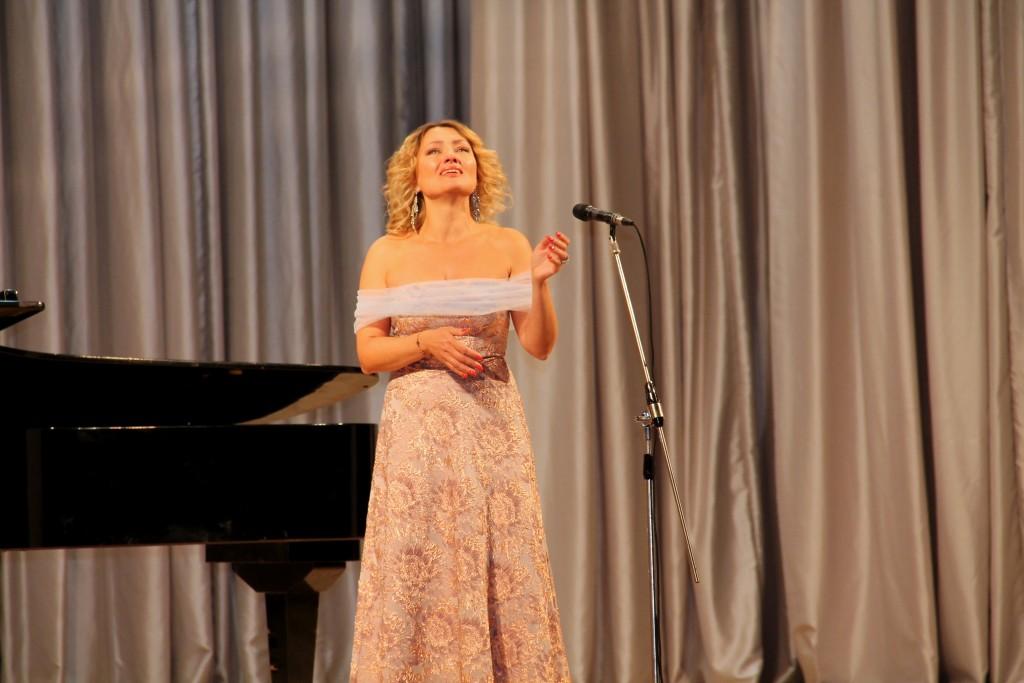 Оперна діва Олена Гончарук у «Вокальному абонементі» (Фото)