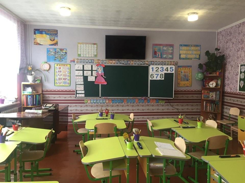У Холминській ОТГ оновлюють освітній простір шкіл (Фото)