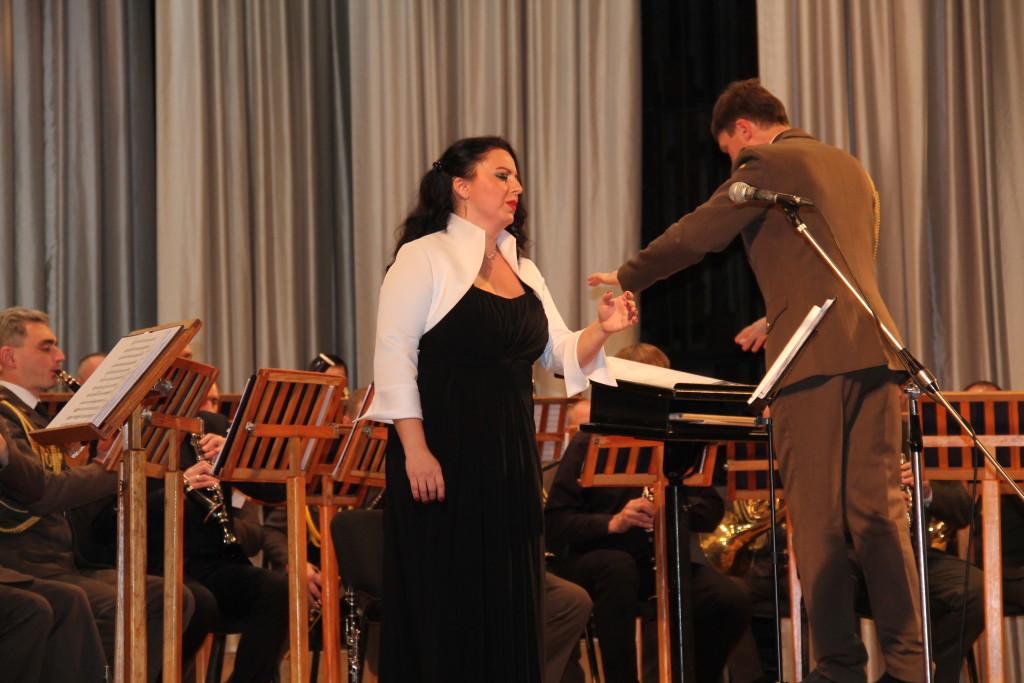 «Експлікація осені» оркестру військово-музичного центру сухопутних військ (Фото)