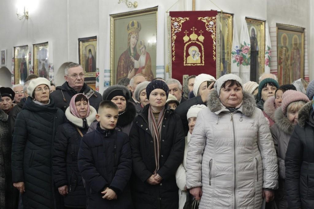 Митрополит Київський і всієї України Епіфаній відслужив літургію у Катерининській церкві (Фото)