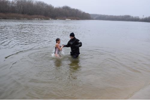 Майже 140 рятувальників забезпечували безпеку під час Водохреще у Чернігові (Фото)