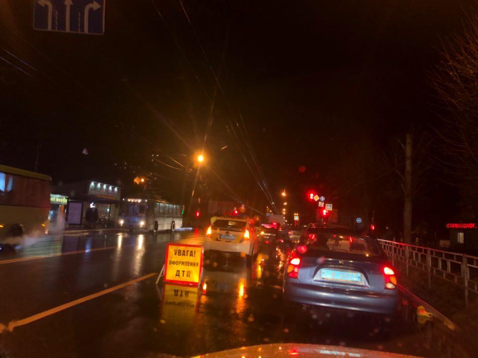 ДТП по проспекту Миру (Фото)