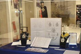 Експозиція Талліннського музею лицарських орденів, яка розповідає про унікальну історію створення Ордену Меча для колекції Національного заповідника Гетьманська столиця