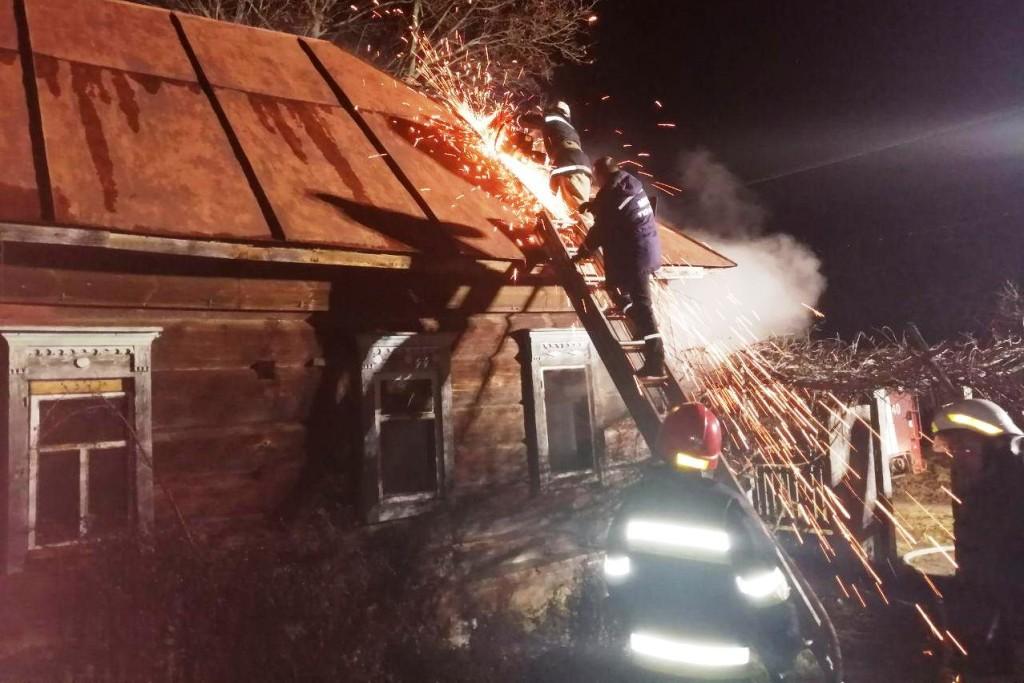 У Ріпкінському районі під час пожежі загинула 61-річна жінка (Фото)