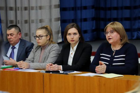Ганна Новосад ознайомилася з особливостями освітньої мережі Чернігівської області (Фото)
