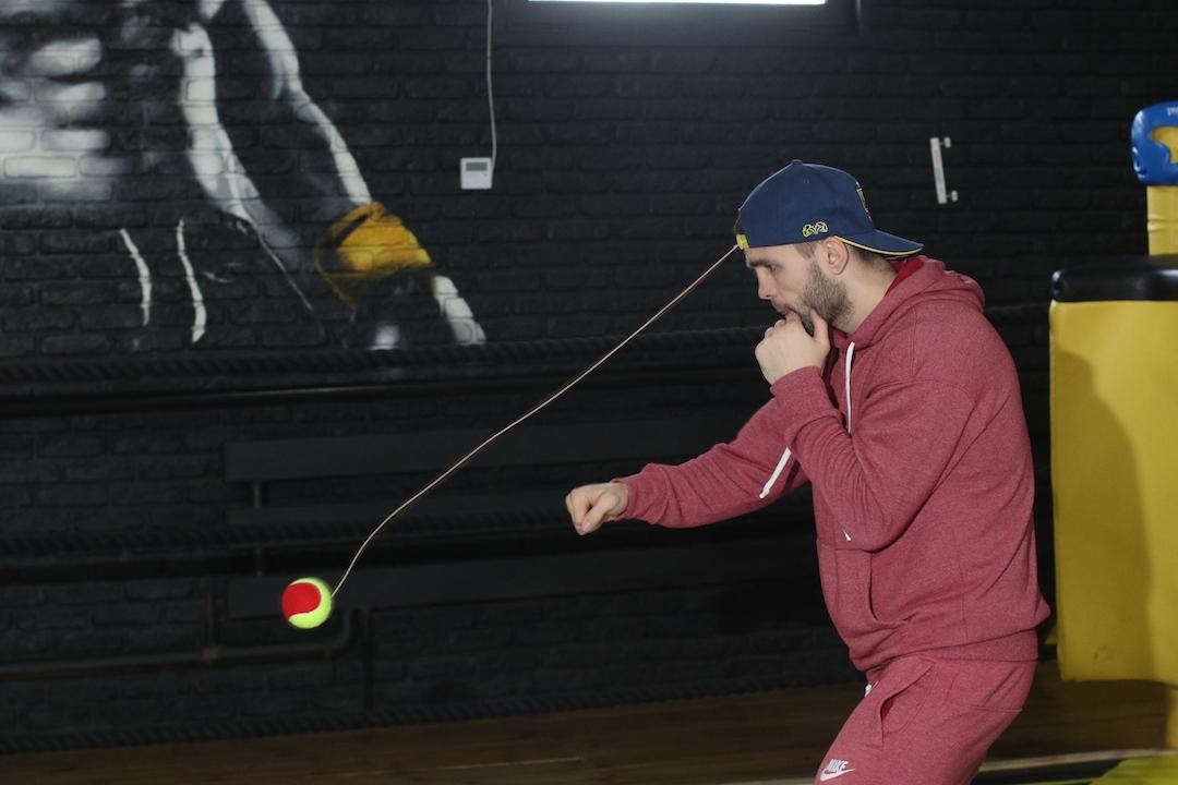Чернігівець Дмитро Митрофанов провів відкрите тренування перед боєм із «Хоробрим серцем» (Фото)