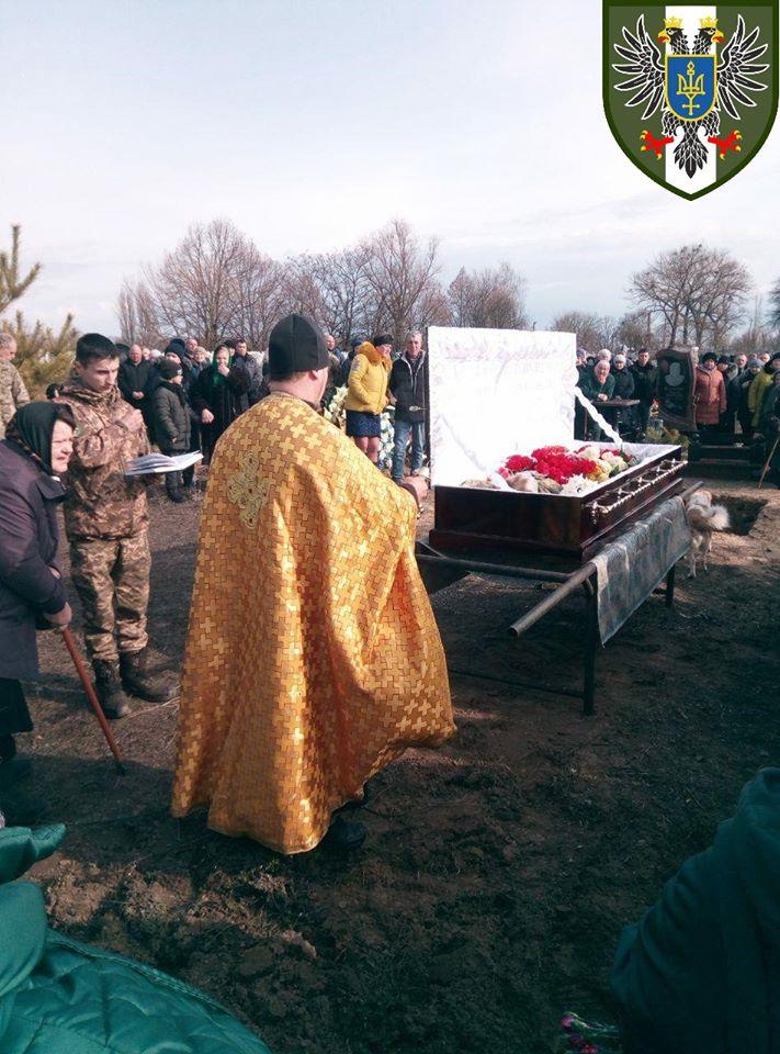 У Прилуцькому районі прощалися із загиблий бійцем АТО (Фото)