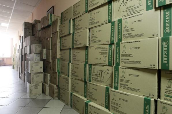 Чернігівщина отримала медзасоби для лікувальних закладів (Фото)