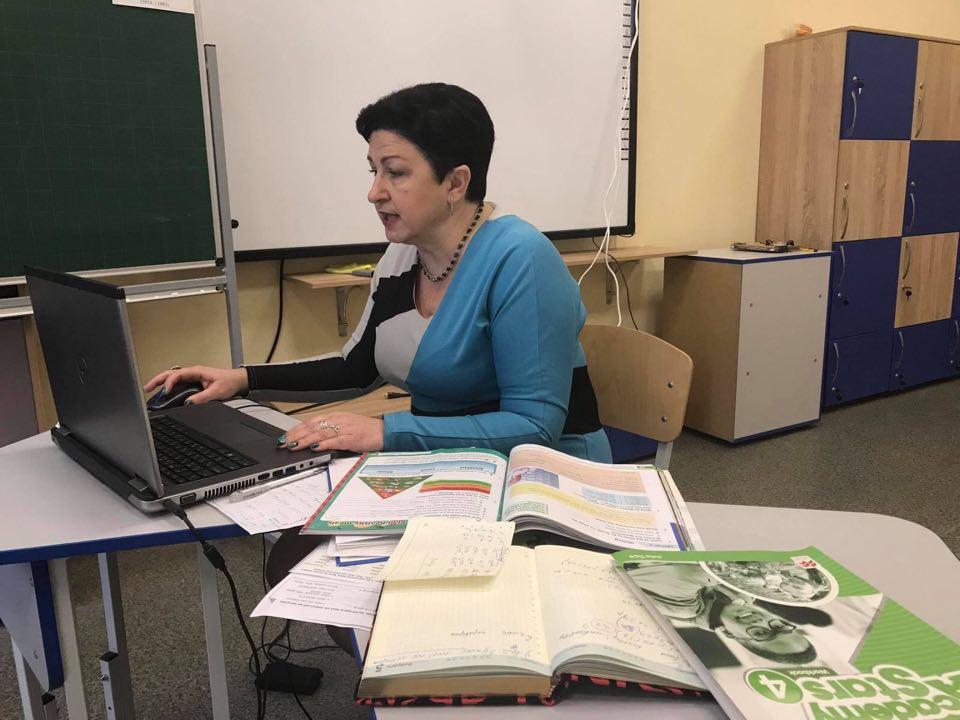 У приватній школі «МудрАнгелики» навчаються дистанційно (Фото)
