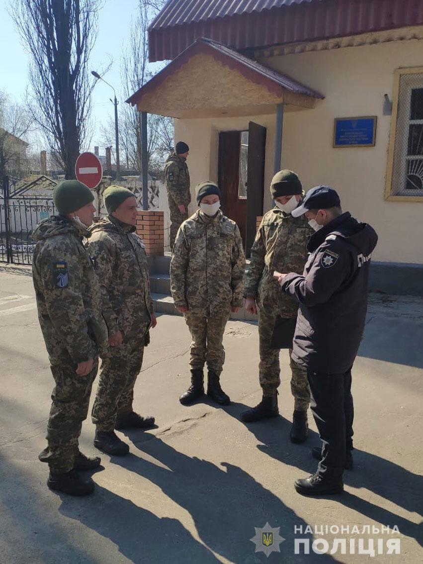 На Чернігівщині поліція разом з військовою службою правопорядку патрулюють вулиці (Фото)