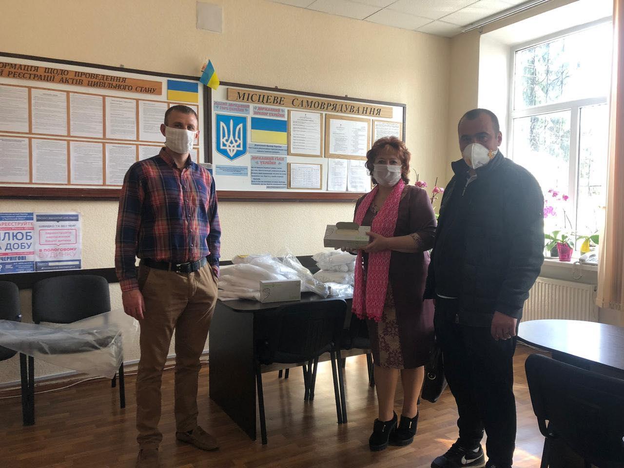 Разом – проти коронавірусу: Чернігівщині допомагає благодійний фонд «Наш край»
