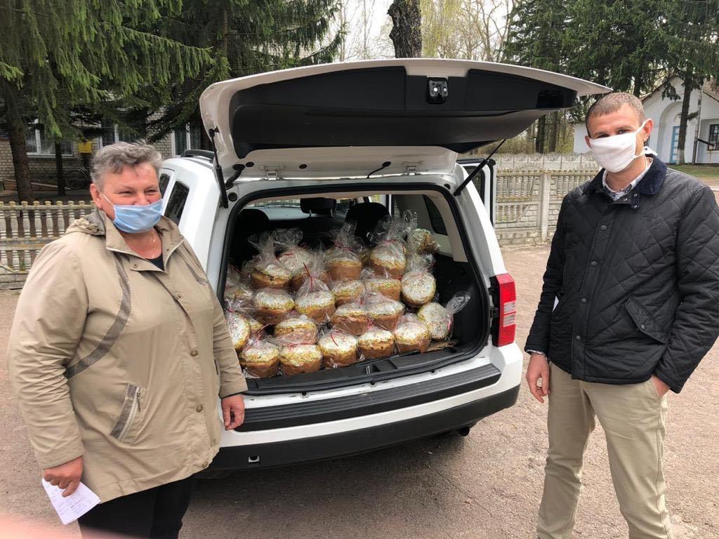 Жителі Чернігівського району отримали великодні подарунки від благодійного фонду «Наш край»