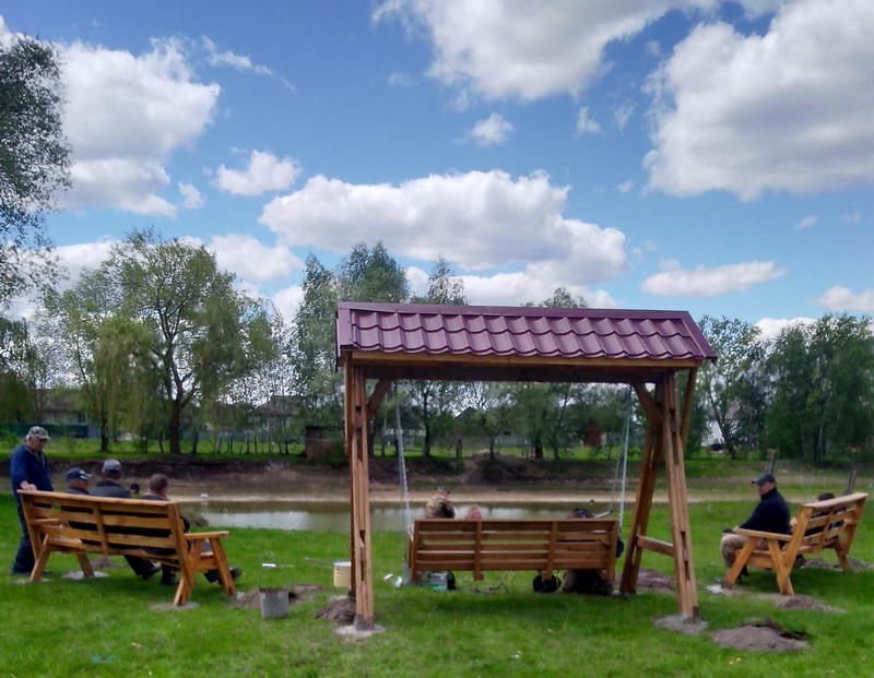 В Куликівці облаштували ще одну зону відпочинку (Фото)