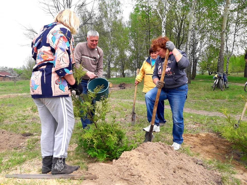 Громади Чернігівщини передають одна одній естафету екочеленджу (Фото)