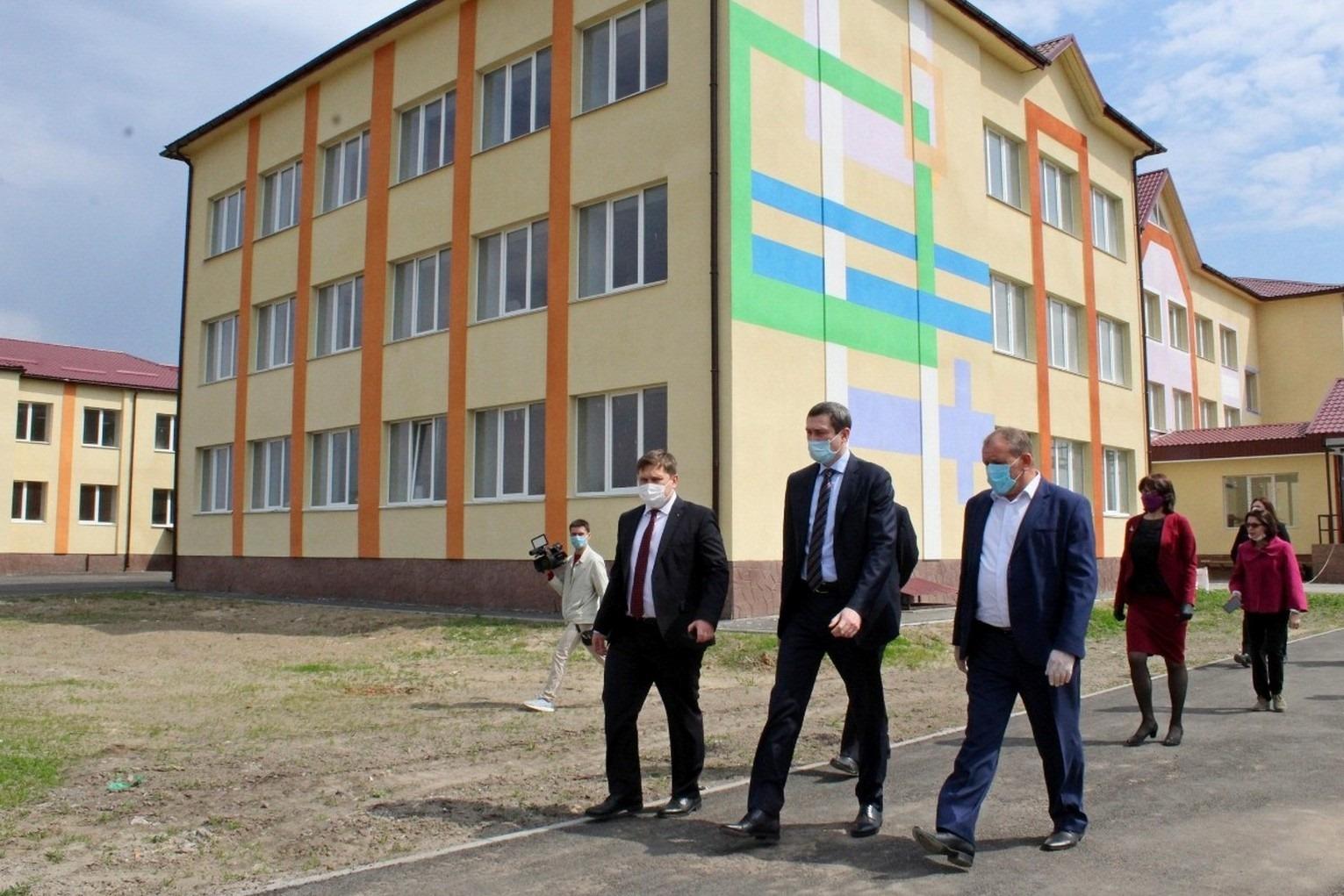 У Носівці невдовзі відкриють школу для більш ніж пів тисячі дітей (Фото)