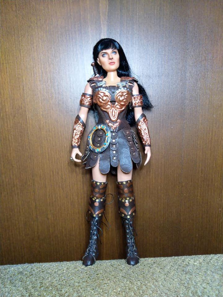 Чернігівка створила мініатюрну принцесу Ксену (Фото)