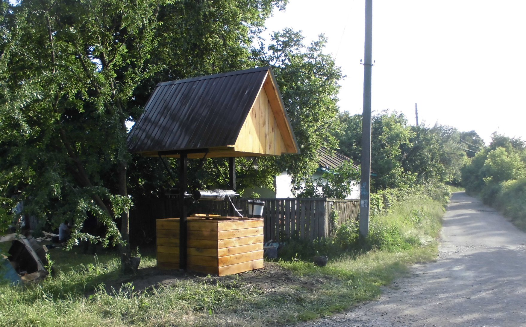 У Сосницькому районі відновили дві криниці (Фото)