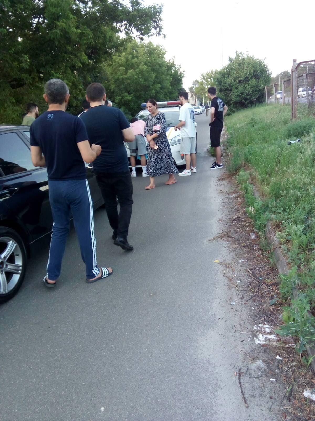 У столиці чернігівку на велосипеді збила автівка (Фото)