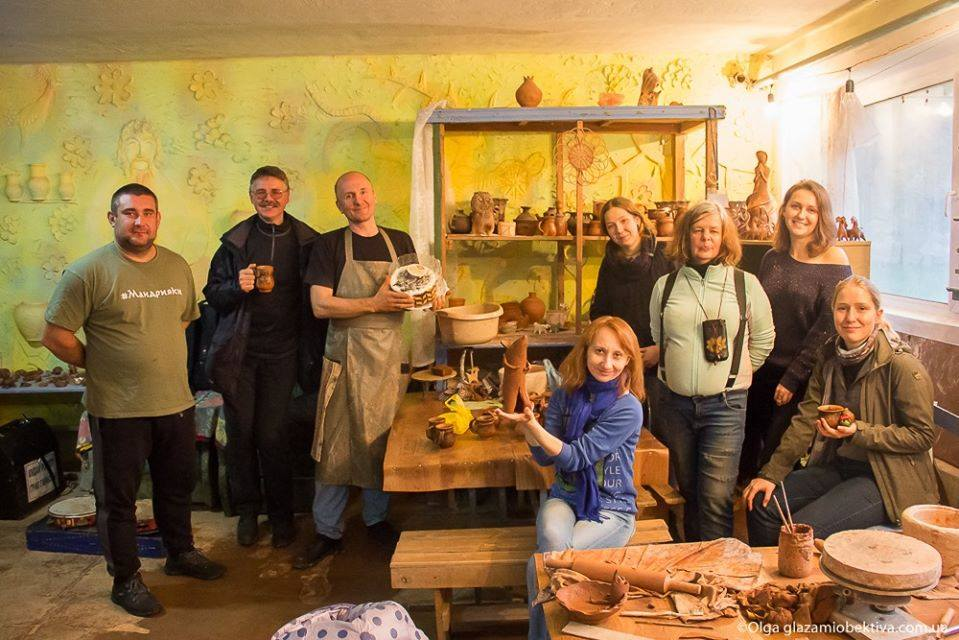 Знаний на Чернігівщині гончар Олег Луцук готує сюрприз на фестиваль керамістів (Фото)