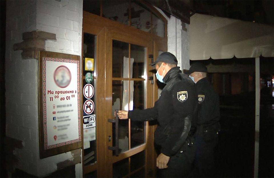 У Чернігові один з пабів не дотримувався правил карантину (Фото)
