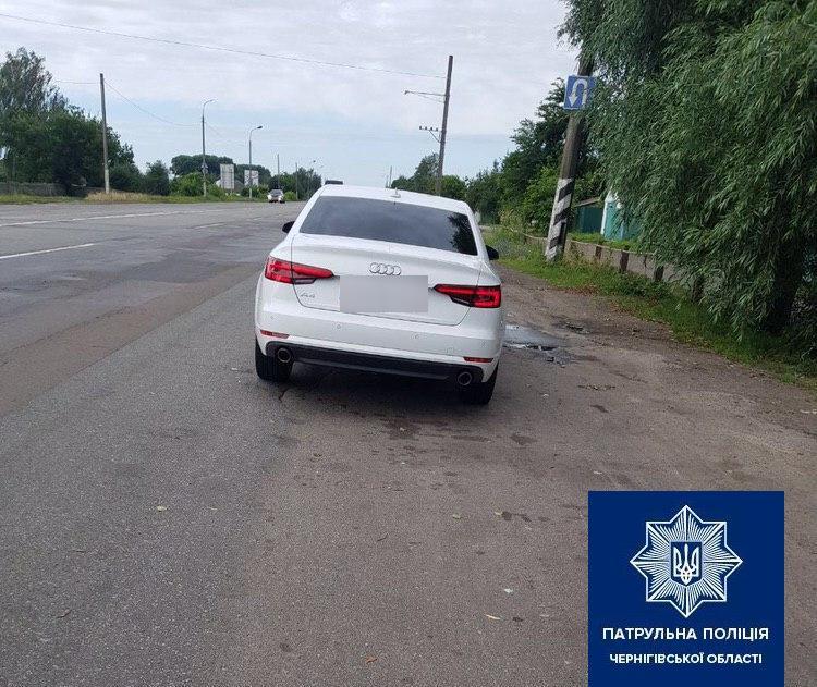 На Чернігівщині затримали водія під дією наркотиків (Фото)