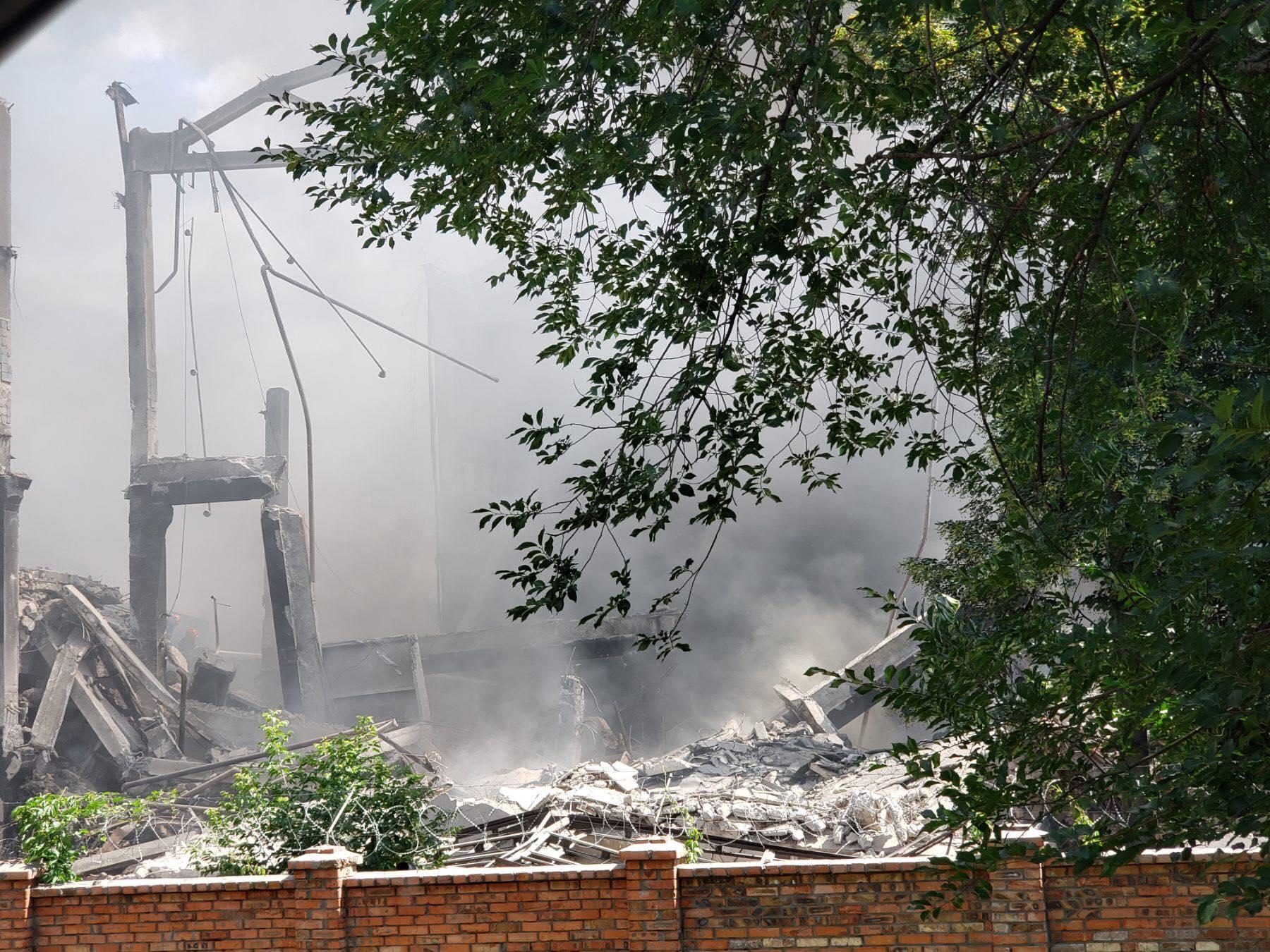 У районі Музикалки масштабна пожежа (Фото)