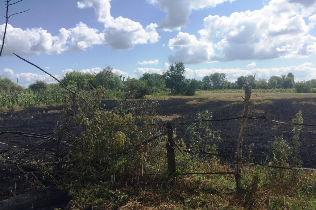 У Ніжинському районі внаслідок спалювання сміття загинув 83-річний чоловік (Фото)
